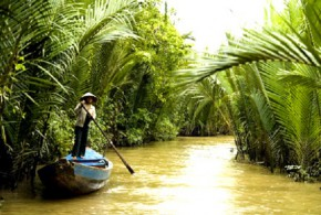 Coconut into the culinary culture of the Ben Tre